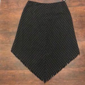 Dresses & Skirts - Asymmetrical black & tan skirt